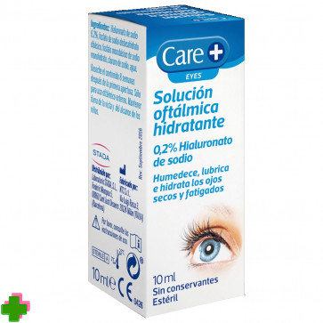 CARE+ EYES, SOLUCIÓN OFTÁLMICA HIDRATANTE STADA 10ML